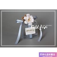 喜糖盒子欧式结婚用品创意个性209透明糖果盒婚礼喜糖袋