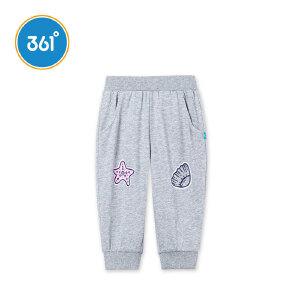 361度 女童针织七分裤 2018年夏季新款N61824571