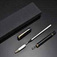 商务签字笔 中性笔宝珠笔金属笔杆广告笔免费刻字定制logo礼盒装
