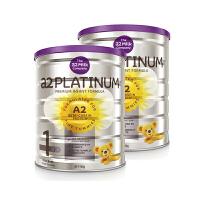 【网易考拉】a2 白金婴儿配方奶粉一段 0-6个月 900克/罐装 2罐