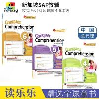 SAP Conquer Comprehension Workbook 4-6年级攻克系列阅读理解3册练习册套装 10-