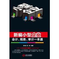 新编小型企业会计、税务、审计一本通 正版 陈玉洁,吴强著 9787210067153