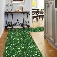 立体墙贴可移除厕所浴室卫生间瓷砖玻璃地板贴防水装饰贴画荷花 大