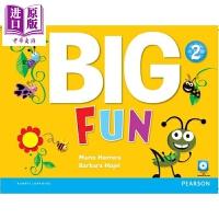 【中商原版】Big Fun 2 Student Book with CD-ROM 朗文培生英语学乐趣2级学生用书含光盘