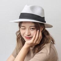 帽子女韩版潮防晒遮阳巴户外运动帽子沙滩防晒打草帽