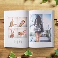 情侣礼物照片书定制抖音相册制作diy手工创意做微信聊天记录抖音