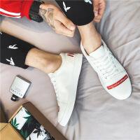 2018春款新款韩版板鞋休闲运动男鞋学生帆布鞋低帮潮流鞋子