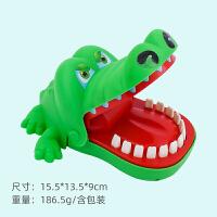 咬手指鳄鱼创意男女儿童游戏分手告别减压恶搞送女朋友的整蛊解压神器道歉哄生气送的同款玩具小礼物 咬手鳄鱼 无电池 大号