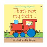 That's not my train 英文原版儿童趣味读物 幼儿启蒙触摸书