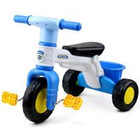 儿童三轮车脚踏车迷你款男孩轻便宝宝户外6个月带斗1-3周岁