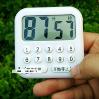 优选学生数字按键电子厨房计时器定时提醒美容面膜实验大屏记忆