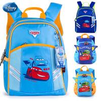迪士尼幼儿园书包3-5-6岁学前小学生背包男童麦昆汽车儿童双肩包