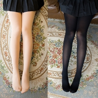 3条中厚连裤袜春秋款不透肉丝袜加厚打底袜显瘦薄款女天鹅绒裤袜 120d微透肉【3条装】