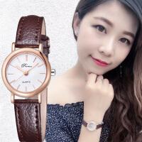 手表女学生韩版简约时尚潮流皮带休闲大气
