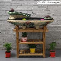 创意摆件家居客厅假山流水喷泉鱼缸装饰开业礼品风水轮加湿器
