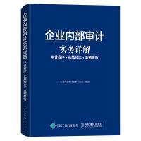 企业内部审计实务详解 审计程序 实战技法 案例解析
