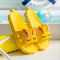 儿童拖鞋夏男童女童中大童室内家用防滑浴室小孩卡通软底宝宝凉拖