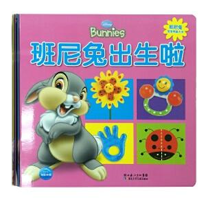 迪士尼班尼兔宝宝早教大书(全四册)