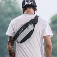 男士腰包大容量多功能胸包潮女休闲斜挎单肩包运动跑步骑行手机包 支持礼品卡支付