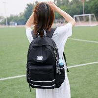 中学生书包女双肩包校园简约百搭高中大容量背包
