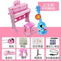 儿童电子琴带麦克风钢琴初学男女孩玩具1-3-6岁小宝宝礼物