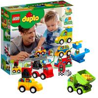 LEGO乐高 Duplo得宝系列 益智儿童大颗粒积木玩具 我的创意汽车收藏馆 10886 2019 1月款