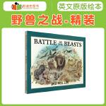 英国进口 野兽之战 Battle of the Beasts 有趣的绘本故事丰富词汇量精装