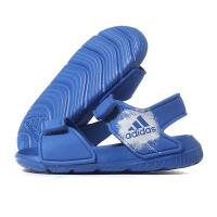 adidas阿迪达斯童鞋2018夏季新款运动鞋男婴童魔术贴休闲凉鞋BA9281