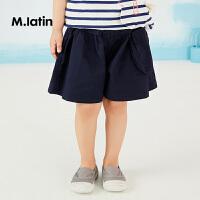 【秒杀价:95元】马拉丁童装女小童短裤夏装新款休闲宽松高腰裤子洋气立体口袋