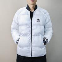 Adidas阿迪�_斯 三�~草 男子 �\�有蓍e棉服 �擅娲┟抟峦馓� BR4791