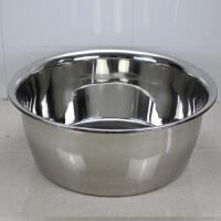 特厚不锈钢洗澡盆盆加深超大盆脸盆和面盆洗菜盆多用盆和面盆