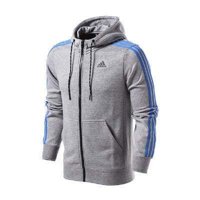 adidas阿迪达斯男装夹克外套三条纹运动服AB7407满300减30