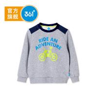 【下单立减价:62.7】361度童装男童卫衣儿童套头卫衣春季长袖上衣K51812301