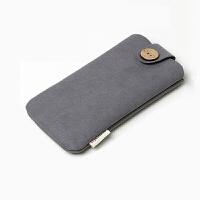 配件手机收纳包魅族小米充电宝保护套收纳袋 移动电源绒布袋 灰色