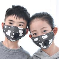 全棉春秋季5-10岁女童儿童口罩小孩