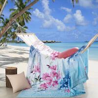 伊丝洁家纺2017沙滩酒店 天丝夏被桑蚕丝夏凉被空调被促销被芯 被子