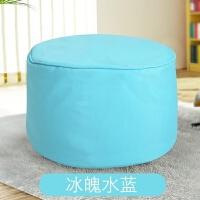 矮凳凳现代圆墩客厅换鞋凳布艺家用榻榻米沙发脚踏创意儿童小圆凳