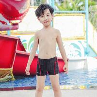 儿童泳裤新款男童平角游泳裤宝宝泳衣男孩分体泳装中大童游泳衣男