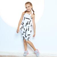 安踏童装女小童套装夏季新款运动休闲套装100-130码36829221