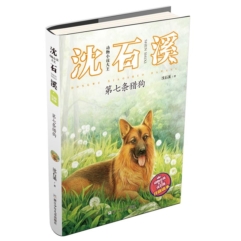 """动物小说大王沈石溪·注音读本:第七条猎狗 """"动物小说大王""""沈石溪经典作品的注音版"""