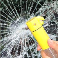 汽车安全锤 救生锤破窗器多功能车用安全锤手电筒应急灯汽车用品
