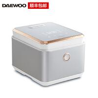 韩国大宇(DAEWOO)电饭煲电饭锅 4L 家用IH电磁加圆灶精铁内胆 FB01 白色