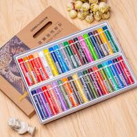 雄狮油性粉彩小学生美术初学者绘画蜡笔套装重彩油画棒24色36色48色60色油性彩色笔油彩笔彩色蜡笔美术绘画