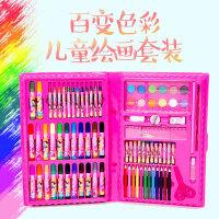 六一儿童礼物益智绘画文具套装礼盒画画男女孩画笔蜡笔水彩笔彩铅小学生礼物