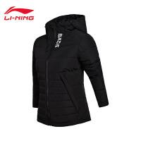 李宁短款羽绒服女士篮球系列保暖冬季80%白鸭绒运动服AYMM076