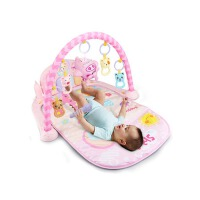 婴儿健身架器脚踏钢琴新生儿宝宝音乐游戏毯玩具0-1岁3-6-12个月