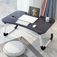 床上小桌子笔记本电脑桌可折叠简易做桌懒人家用写字学生学习书桌