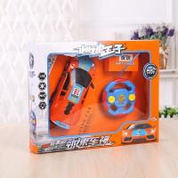 遥控兰博基尼跑车遥控方程式赛车带灯光儿童遥控汽车玩 桔色