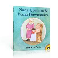 美国图书馆推荐Nana Upstairs And Nana Downstairs楼上的外婆和楼下的外婆 美国学前教育教
