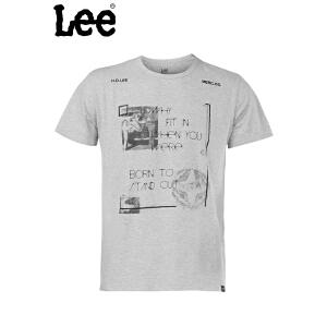 Lee 【断码】男士短袖T恤 清爽舒适透气吸汗 L15151K99G3M
